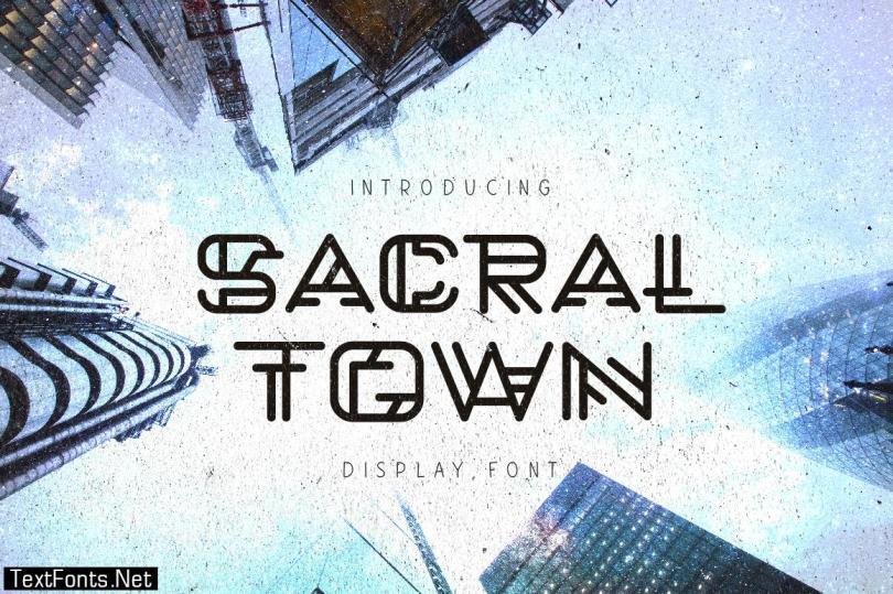 Sacral Town Font