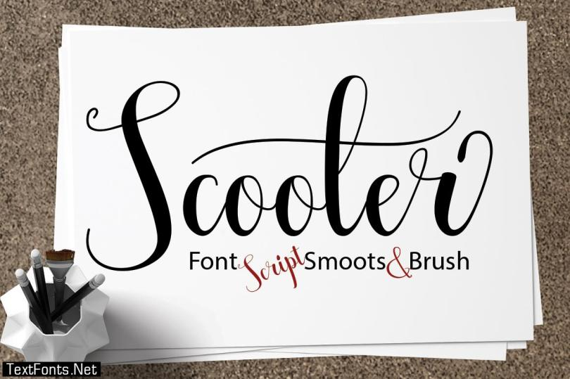 Scooter Font
