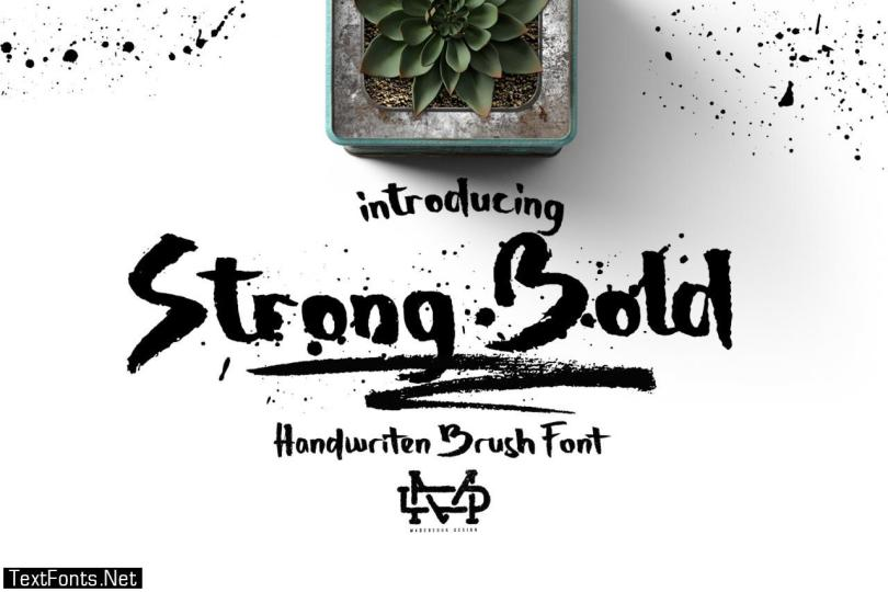 Strong Bold Font