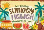Sunday Hawaii Font