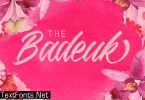 The Badeuk Font