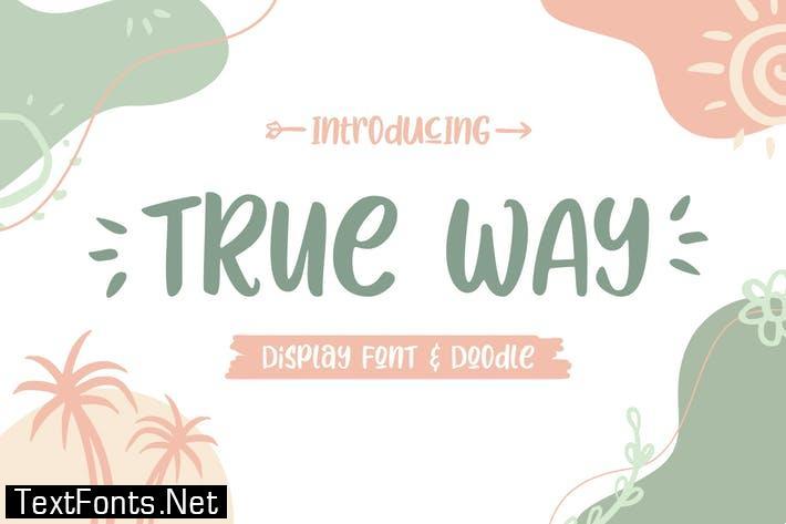 True Way Font