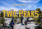 Two Peaks Font