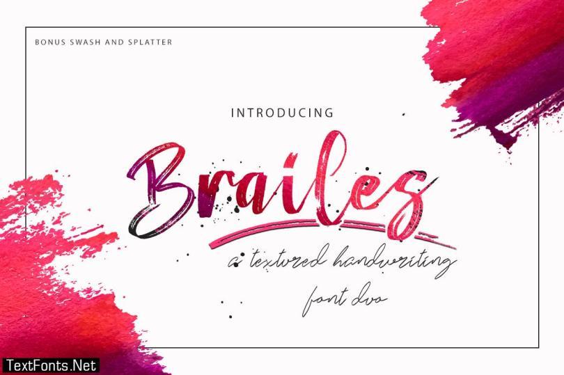 Brailes Font