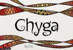 Chyga Font