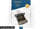 Corona 3 Typewriter Font