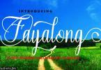 Fayalong Script Font
