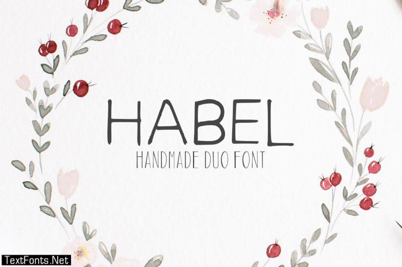 Habel Font
