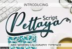 Pettaya Script Font