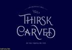 Thirsk Carved Font