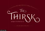 Thirsk Font