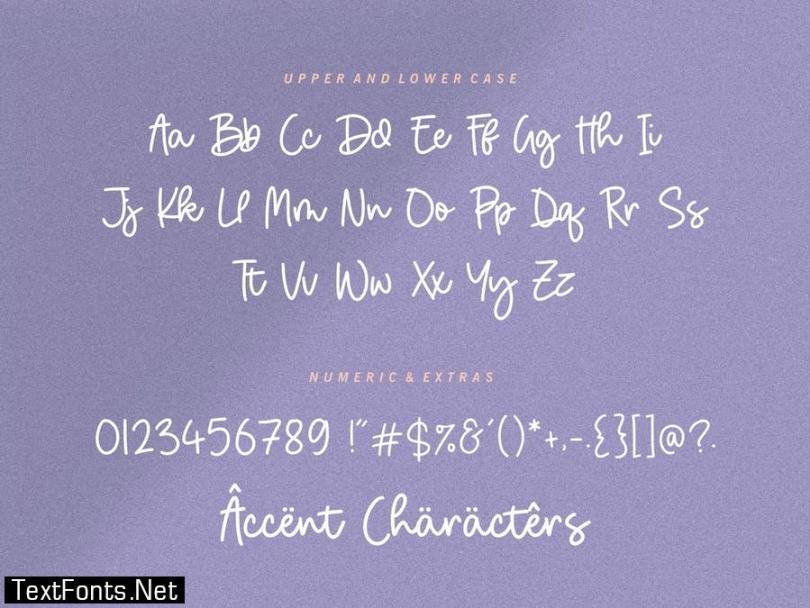 Birdhave Signature Font YH
