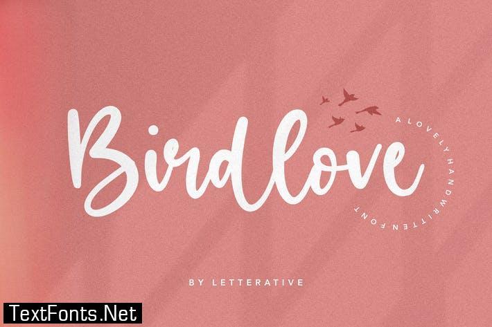 Birdlove Script Font YH