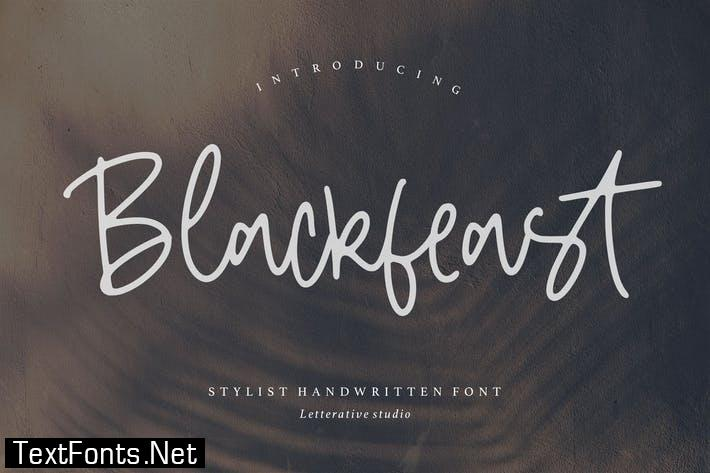 Blackfeast Signature Font YH