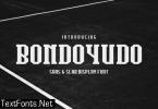 Bondoyudo Font