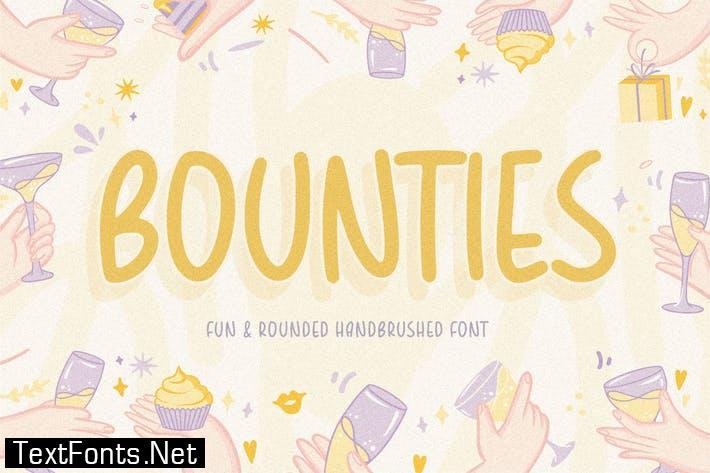 Bounties Display Font YH