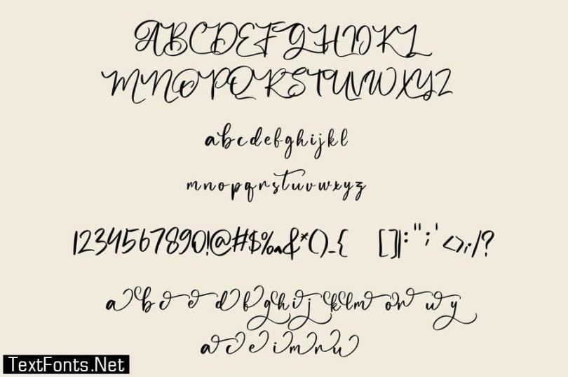 Butgone Font