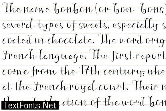 Fine New Bonbons Font