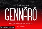 Gennaro Font