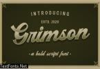 Grimson Vintage Script Bold