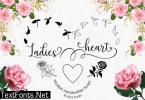 Ladies Heart Font