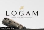 Logam Font