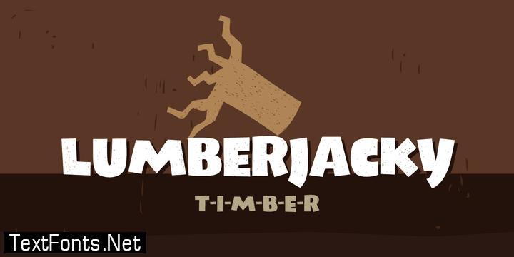 Lumberjacky Font