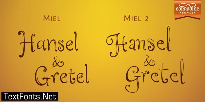 Miel Family Font