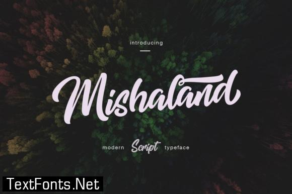 Mishaland Font