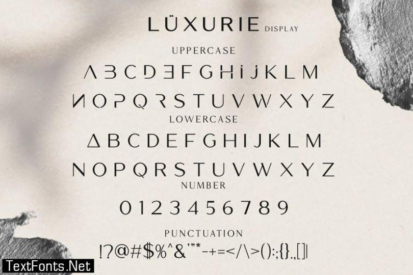 Mories Luxerie - Elegant Display Sans & Serif