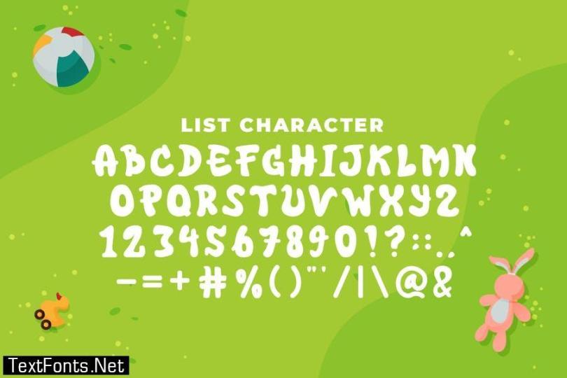 QR BIGER HIGH Font