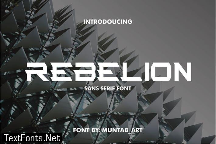 Rebelion | Modern Font