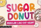 Sugar Donut Crafty Font