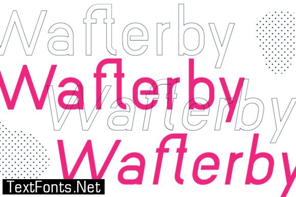 Wafterby Family Font