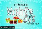 Winter Joy Font