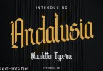 Andalusia – The Blackletter Typeface