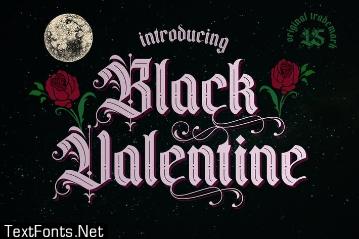 Black Valentine | Font