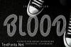 Blood Font