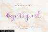 Byutigurl Font