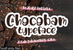 Chocobam Font