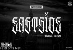 Eastside | Blackletter font