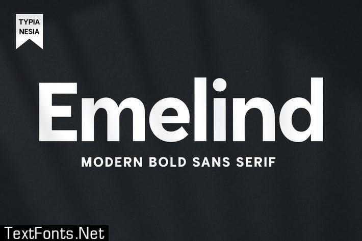 Emelind - Modern Logo Sans