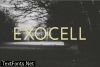 Exocell Font