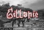 Gillanie Font
