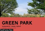 Green Park Font