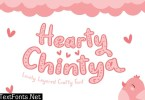 Hearty Chintya - Layered Crafty Font