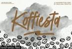 Koffiesta Handwritten Font