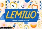 Lemilio - Organic Handwritten Font