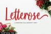 Letterose Font