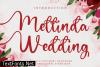 Mellinda Wedding Font